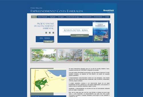 Site Costa Esmeralda