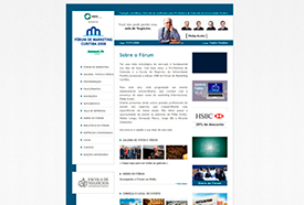 Site Fórum de Marketing