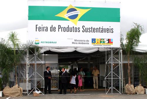 Feira de Produtos Sustentáveis