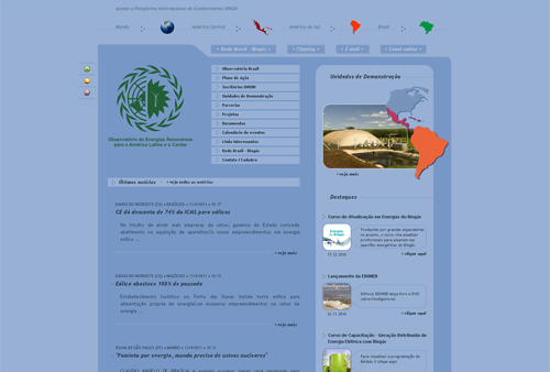 Site Observatório Brasil