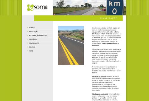 Site Soma Engenharia